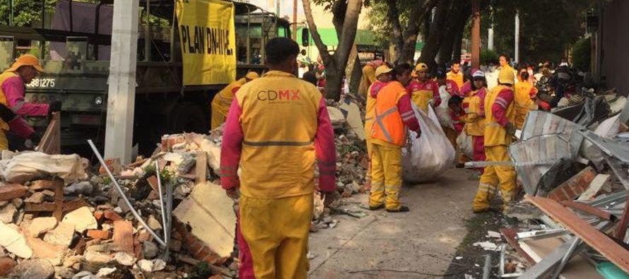 El terremoto magnitud 7.1 que afectó a los estados centrales de Puebla, Morelos y Ciudad de...