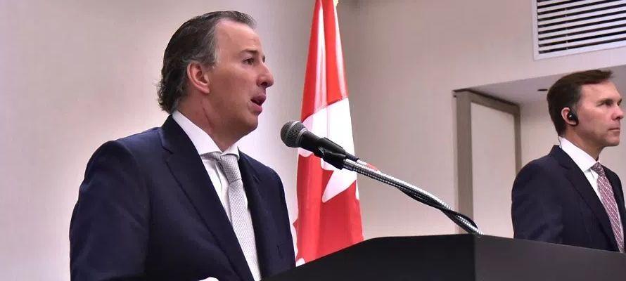 El comercio que genera el TLCAN representa el 39 por ciento del PIB de Canadá y el 49 por...