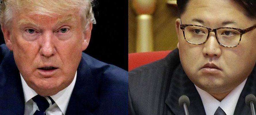 """Trump, que esta semana amenazó en su debut en la ONU con """"destruir totalmente a Corea..."""