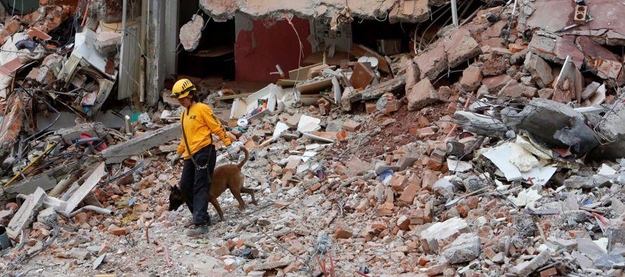 El sismo del 19 de septiembre fue tan destructivo debido a la inusual ubicación de Ciudad de...