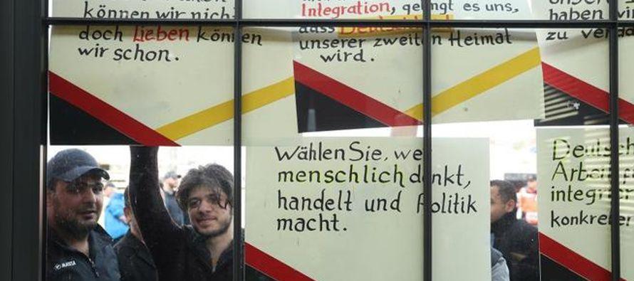 Más de un millón de refugiados llegados a Alemania gracias a la política de...
