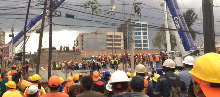 El Servicio Geológico de los Estados Unidos dijo que el nuevo terremoto fue relativamente...