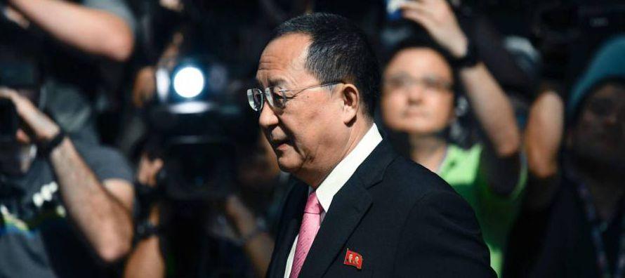 Ante la Asamblea General de la ONU, Trump amenazó la semana pasada con arrasar Corea del...