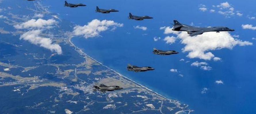El matiz es muy importante. Por un lado, el espacio aéreo norcoreano no fue violado. Por...