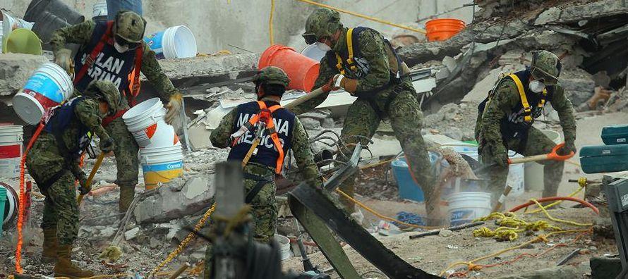El jefe de Gobierno dijo que la búsqueda y rescate de sobrevivientes en la capital es...