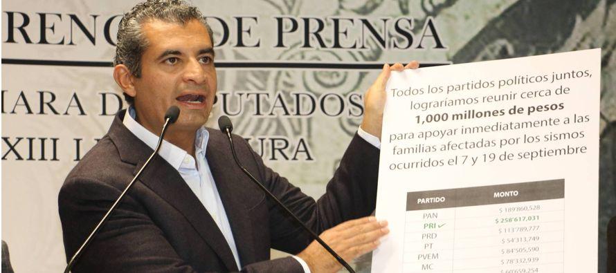 La propuesta de Ochoa no carece de malicia. El PRI, como el resto de partidos, tiene en la mira las...