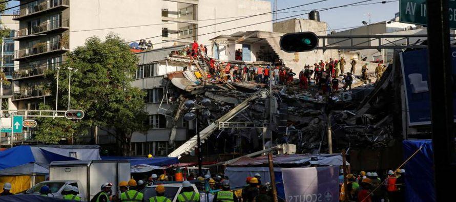 El acalde de la ciudad, Miguel Mancera, dijo a la televisión local que son cinco los sitios...