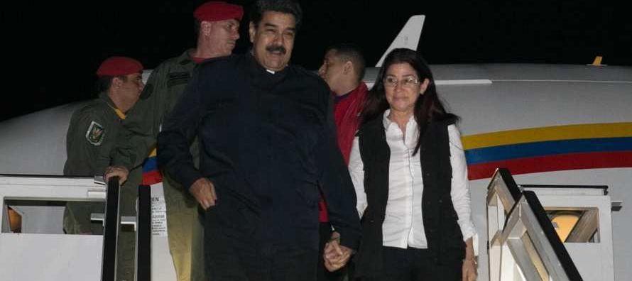 En Nueva York, tras su discurso en la Asamblea General de Naciones Unidas, el canciller venezolano...