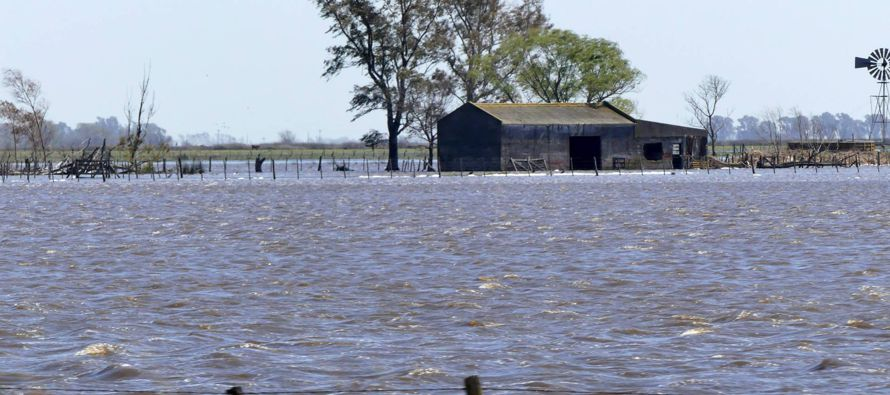 """""""Un viejo refrán del campo dice que la sequía une y el agua separa"""",..."""