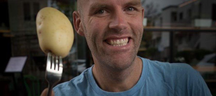 Un hombre australiano pierde 50 kilos en un año en el que se alimentó exclusivamente...