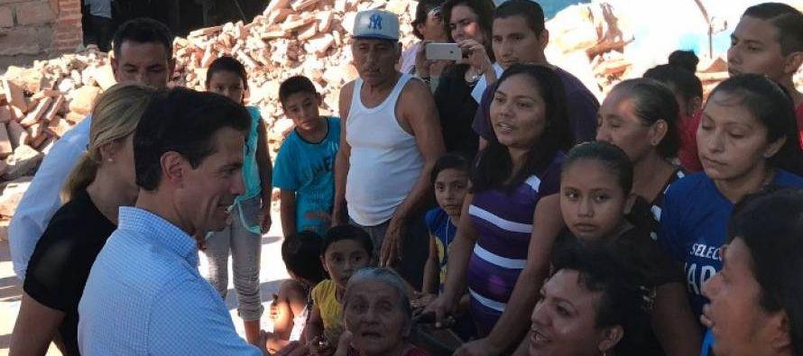 La tragedia vivida en el último mes tras el paso de dos devastadores sismos en...