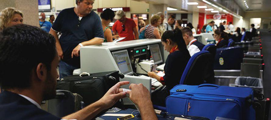 """Un portavoz del aeropuerto de Gatwick ha afirmado que se trata de """"un asunto de las..."""