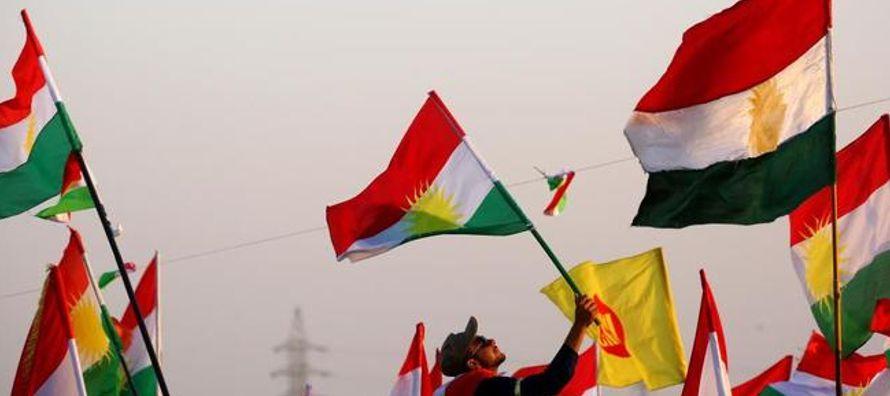 """""""Nuestro destino está escrito. Masud Barzani [presidente del Kurdistán..."""
