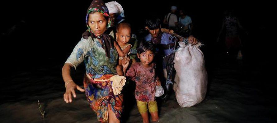 """Myanmar se prepara para """"verificar"""" a refugiados que quieran volver, dijo el ministro..."""