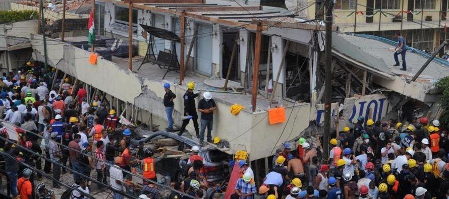 Apenas se había desalojado el edificio de Enrique Rébsamen 241, en la céntrica...