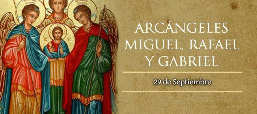 Martirologio Romano: Fiesta de los santos arcángeles Miguel, Gabriel y Rafael. En el...