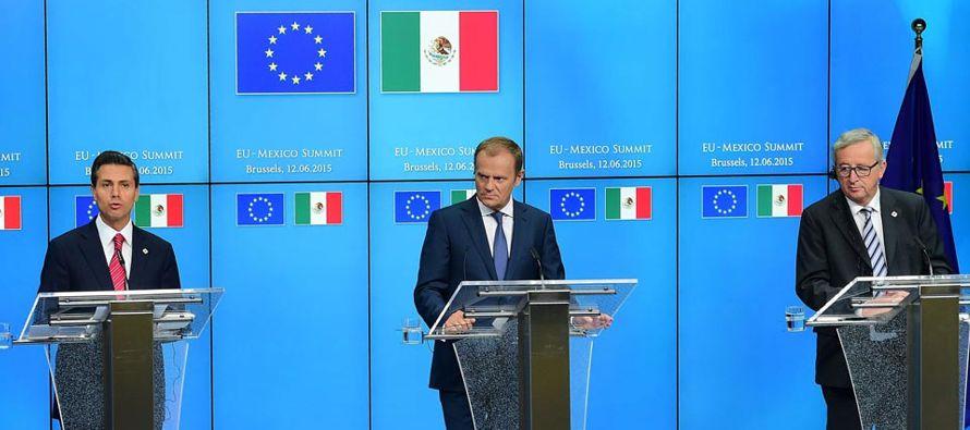 La Unión Europea y México cerraron hoy cinco días de negociaciones para...
