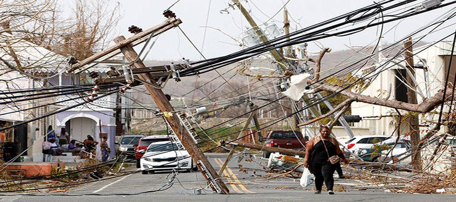 El huracán María, uno de los peores desastres en la historia de Puerto Rico, deja una...