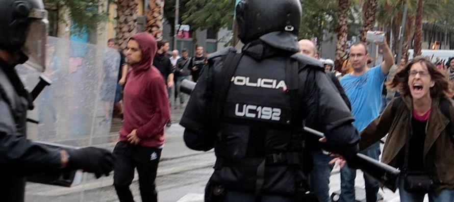Los comentarios de Carles Puigdemont se produjeron tras la declaración televisada del...