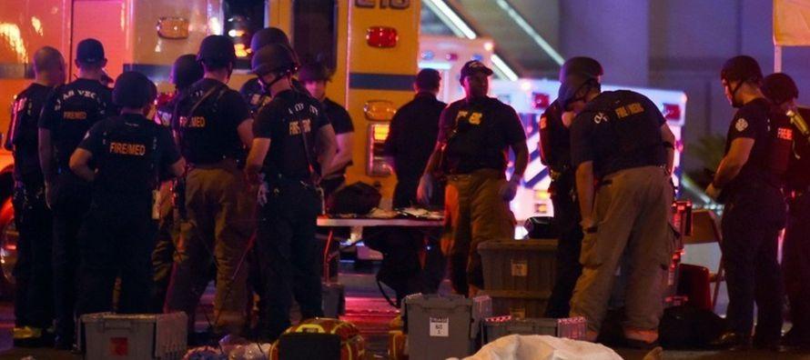 """""""Visitaré Las Vegas el miércoles para reunirme con las fuerzas de seguridad, los..."""