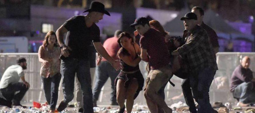 """El presidente Donald Trump ha condenado el suceso como """"un acto de pura maldad"""", en una..."""