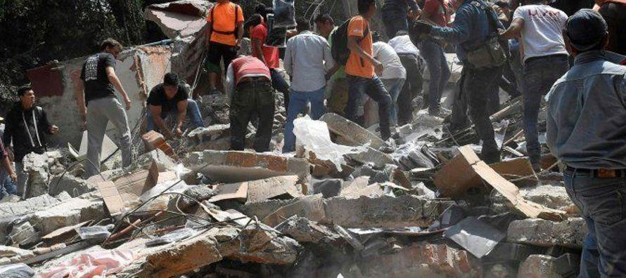 En los estados afectados por el sismo que sacudió el centro del país el 19 de...