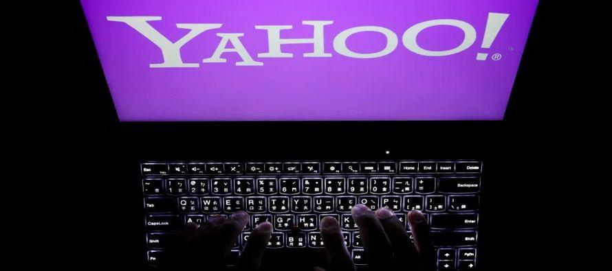 Yahoo dijo el martes que una investigación mostró que las 3,000 millones de cuentas...