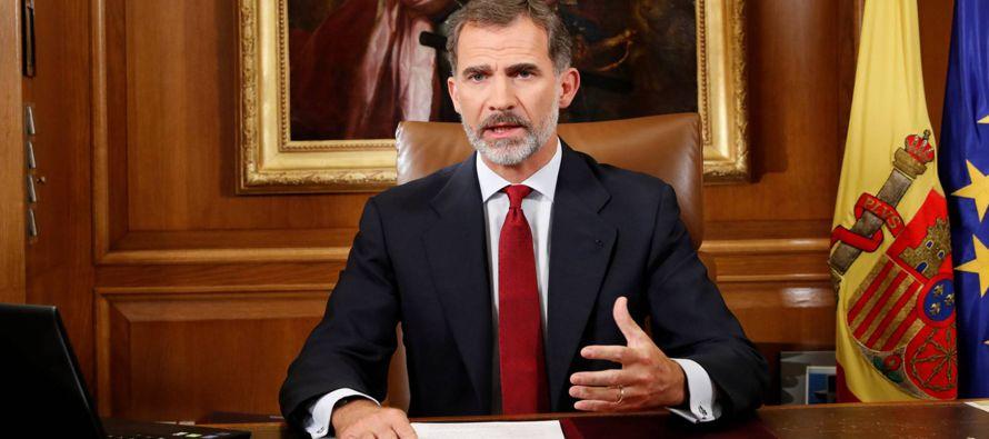 Es la primera vez que el Rey se dirige a los españoles en un mensaje solemne televisado...