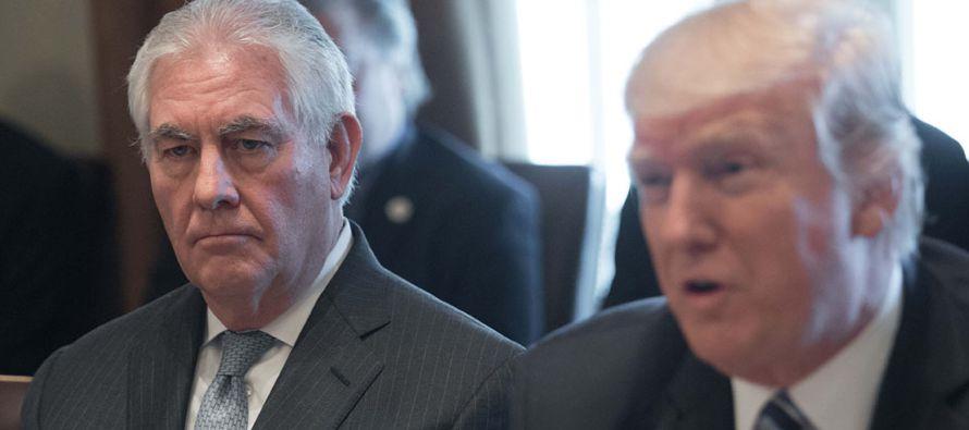 """""""El secretario de Estado no usó ese tipo de lenguaje para hablar sobre el presidente de..."""