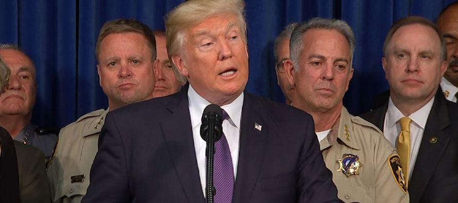Los comentarios de Trump se producen después de que el presidente del Comité de...