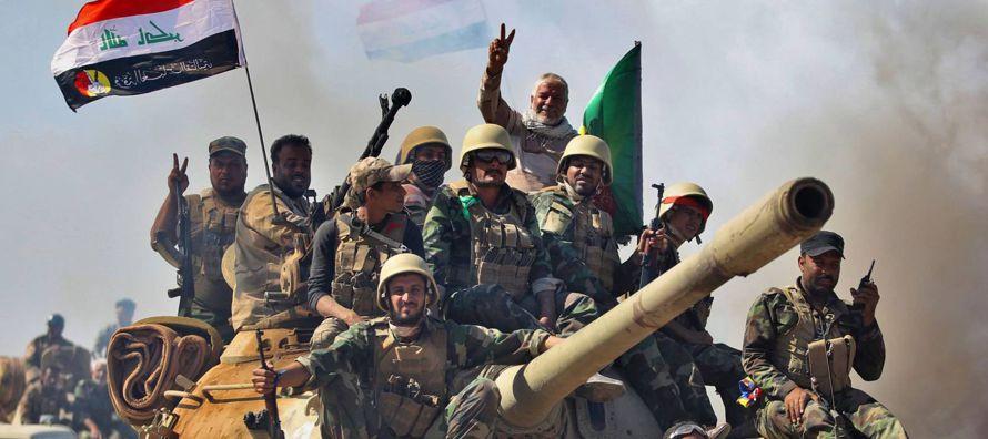 """""""Hemos tomado los barrios de Al Nidaa y Al Askari, en el oeste de la ciudad"""",..."""