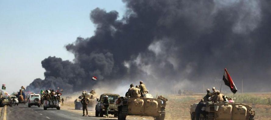"""Después de Mosul, la ex """"capital"""" del Estado Islámico en Irak reconquistada..."""