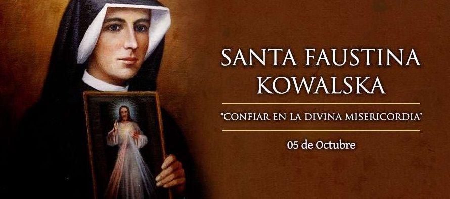 Martirologio Romano: En Cracovia, en Polonia, santa María Faustina Kowalska, virgen de las...