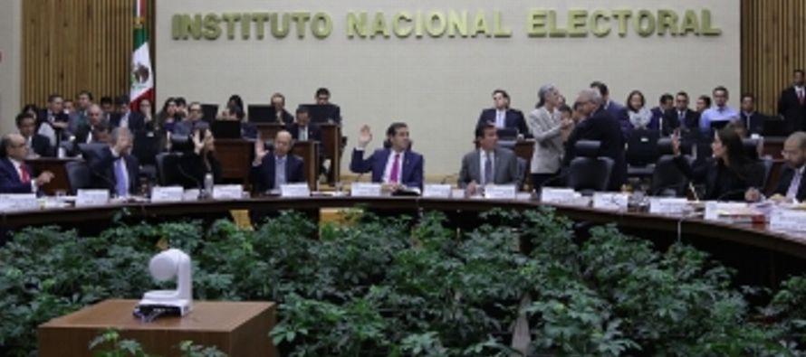 En el Estado de México, el gasto global no reportado por los partidos ascendió a 15,3...