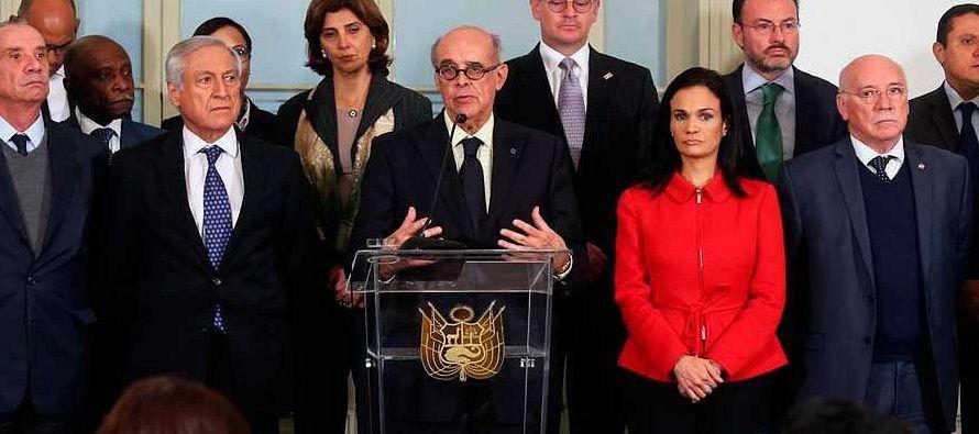 El grupo, integrado por Argentina, Brasil, Canadá, Chile, Colombia, Costa Rica, Guatemala,...