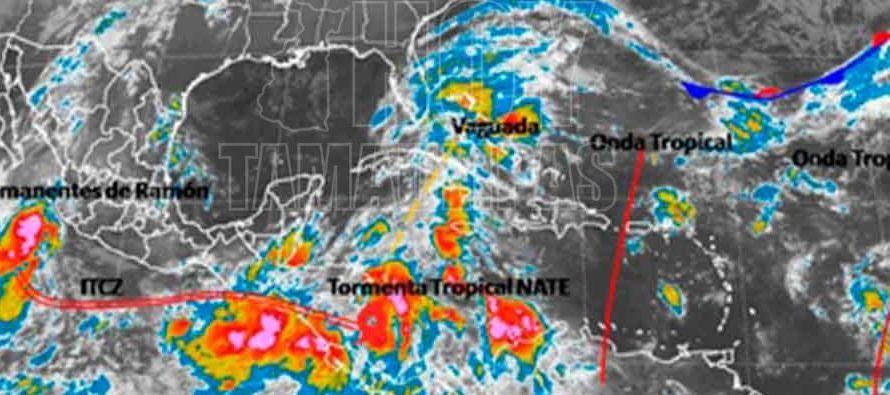 Aunque el centro del ciclón ya dejó atrás Centroamérica, los...