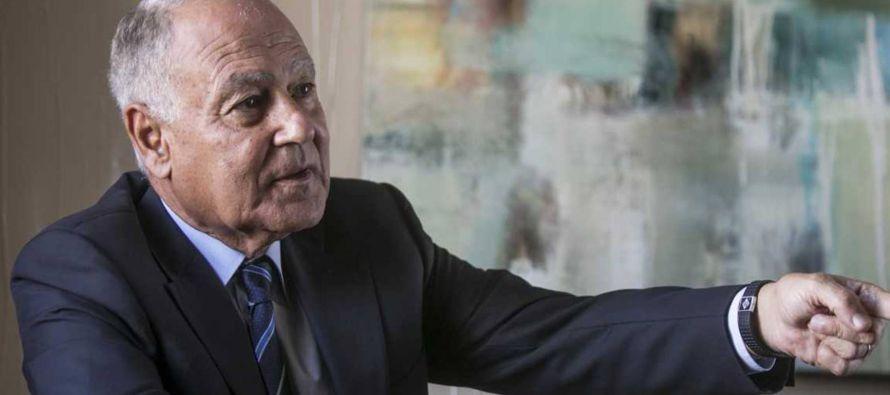 """""""Es el momento más difícil desde 1967"""", reconoce Ahmed Aboul-Gheit (El..."""