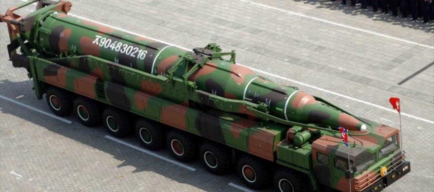 """En Pyongyang, Kim Jong-un ha asegurado que domará """"con fuego al viejo chocho..."""