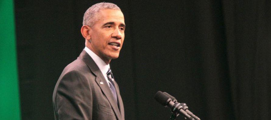 El expresidente norteamericano Barack Obama subrayó hoy que esta es la...