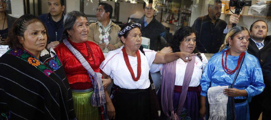 La indígena nahua de 53 años, originaria del estado occidental de Jalisco,...