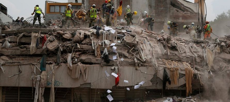 """No queremos solo papeles"", dijo Arturo Tena Colunga, ingeniero estructural de la..."
