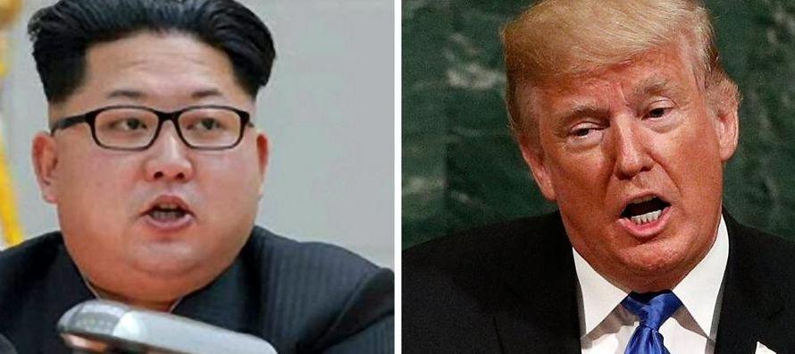 Desde su llegada a la Casa Blanca, Trump ha elevado el tono de amenazas contra Corea del Norte...