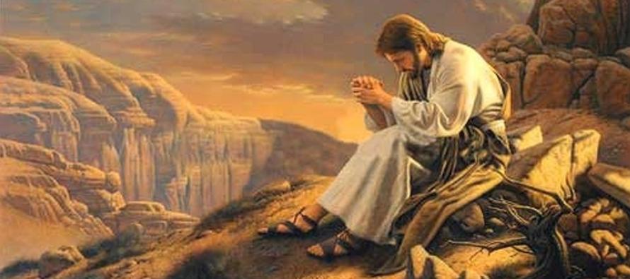 Sucedió que, estando Jesús orando en cierto lugar, cuando terminó, le dijo uno...