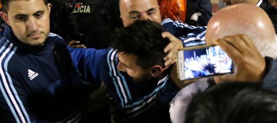 """""""Argentina mostró una jerarquía muy alta en un reducto muy difícil (...)..."""
