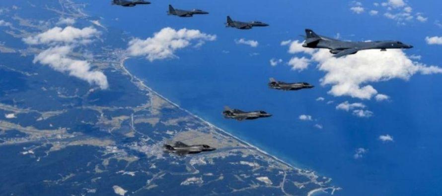 """""""En esta oportunidad, a través de este ejercicio, las aviaciones de Estados Unidos y..."""
