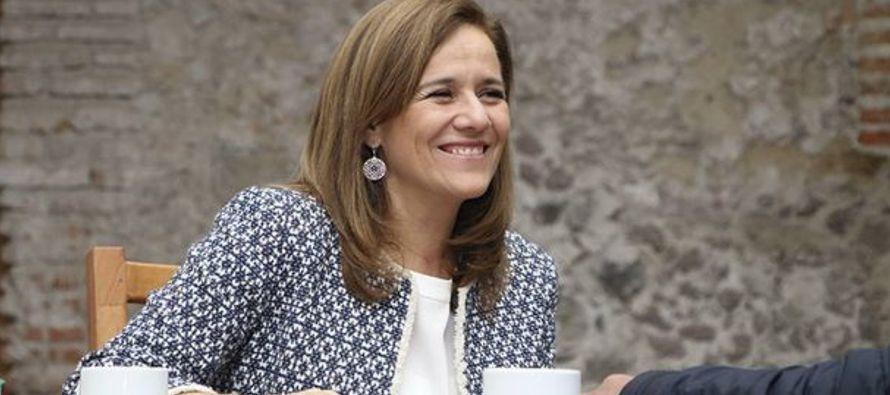 Zavala, de 50 años y quien ha sido diputada local y federal, se presentó ante el...