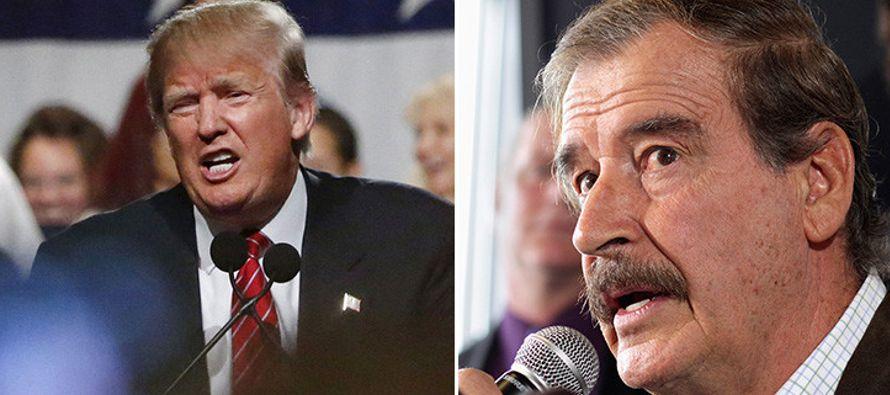 El expresidente de México (2000-2006) Vicente Fox dijo hoy que los migrantes cruzarán...