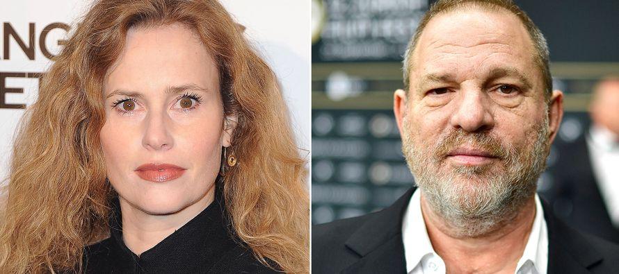 La actriz francesa Florence Darel afirmó el jueves que ella también fue acosada por...