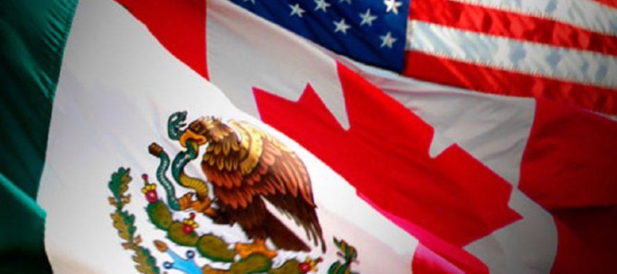 México, Estados Unidos y Canadá iniciaron esta semana la cuarta ronda de...