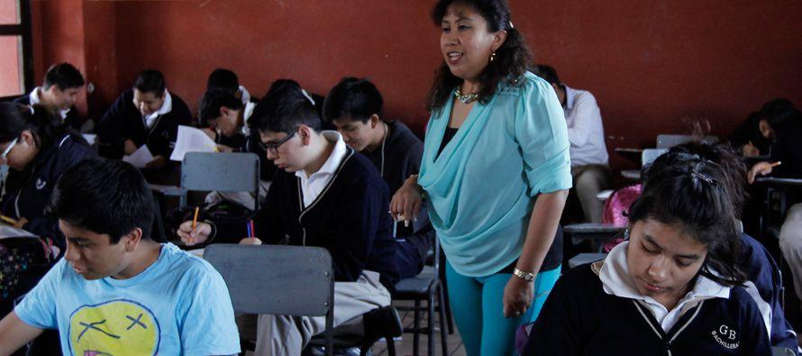 En el Estado de México, el 66 % de la matrícula ya se encuentra en clases. De las...